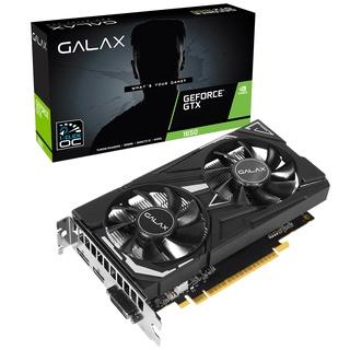 Card màn hình GALAX GTX 1650 (1 Click OC) Black ( 65SQH8DS08EX) (4GB GDDR5, 128-bit, DVI+ HDMI+DP) thumbnail