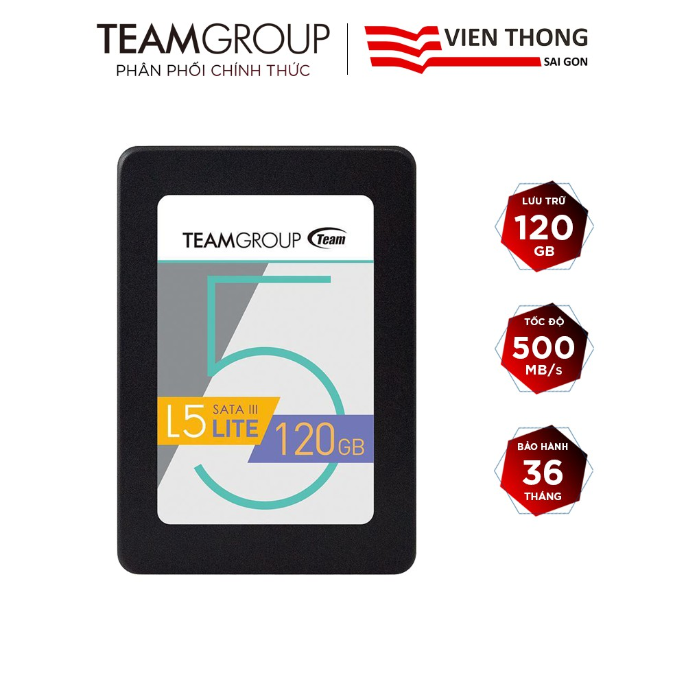 Ổ cứng SSD Team Group L5 LITE 120GB 2.5