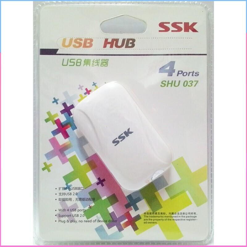 [SALE SIÊU SỐC] SẢN PHẨM BỘ CHIA USB 4 CỔNG SSK SHU 037 Giá chỉ 98.750₫