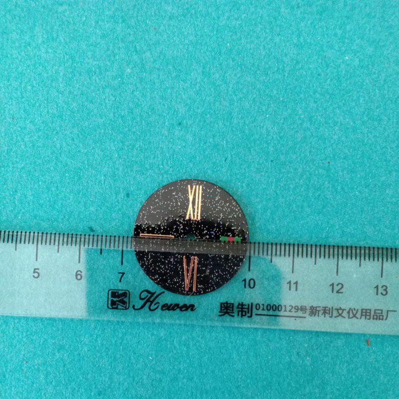 mặt số đồng hồ nữ thay thế cho đồng hồ nam châm vạch la mã size 18mm