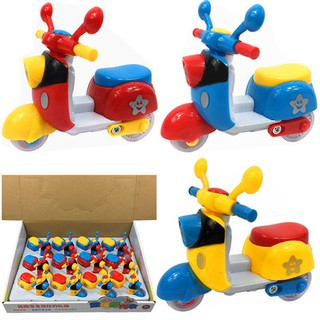 Đồ chơi chạy đà mô hình xe máy mini cho bé