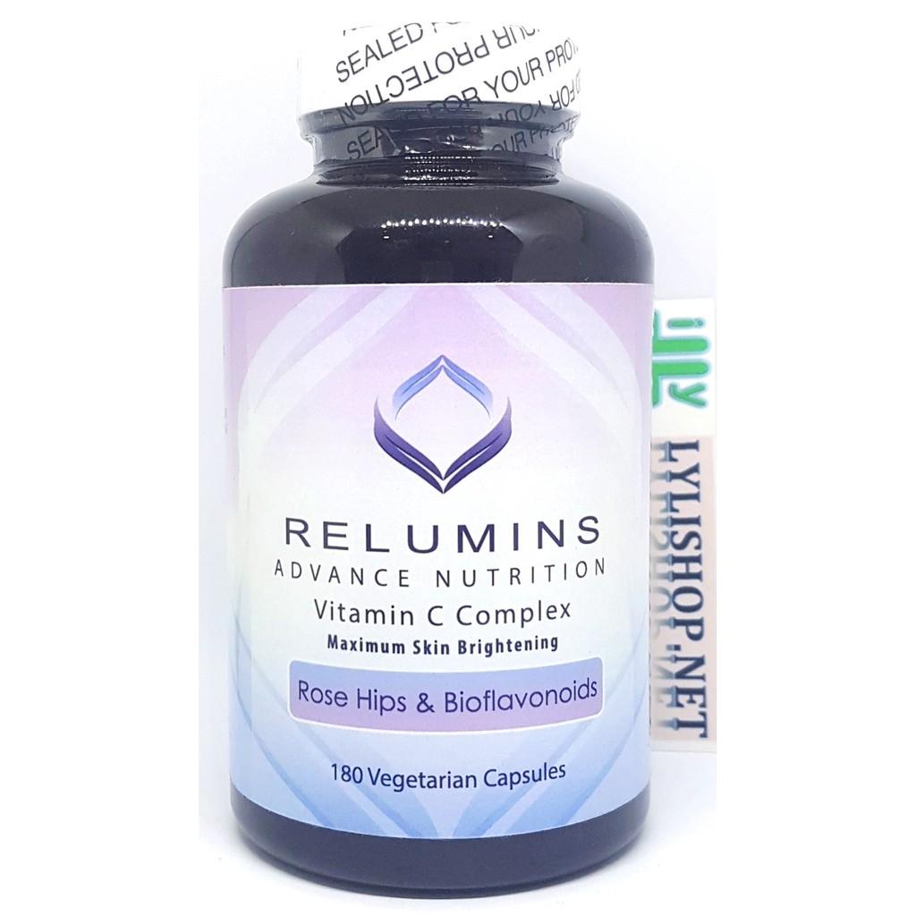 Viên uống trắng da Relumins Vitamin C Complex 180 viên của Mỹ - 2905142 , 81591477 , 322_81591477 , 700000 , Vien-uong-trang-da-Relumins-Vitamin-C-Complex-180-vien-cua-My-322_81591477 , shopee.vn , Viên uống trắng da Relumins Vitamin C Complex 180 viên của Mỹ