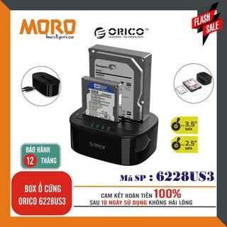 [Mã ELMS05 giảm 5% đơn 300K] Box ổ cứng Orico 6228US3 SATA III USB 3.0 - Phân phối chính hãng