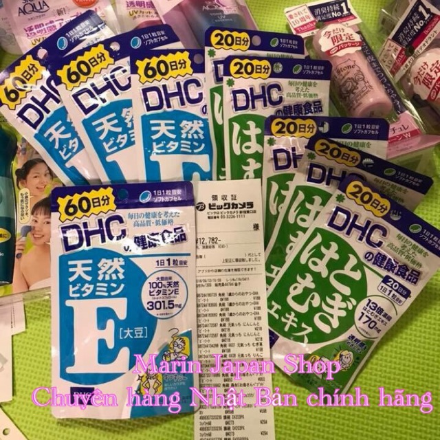 (Hàng có bill) Viên uống vitamin E của DHC Nhật Bản - 3522430 , 1308540982 , 322_1308540982 , 230000 , Hang-co-bill-Vien-uong-vitamin-E-cua-DHC-Nhat-Ban-322_1308540982 , shopee.vn , (Hàng có bill) Viên uống vitamin E của DHC Nhật Bản