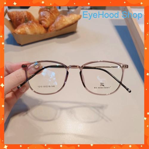 👓 Cắt kính mắt cận-loạn Gọng kính cận tròn 1210 👑