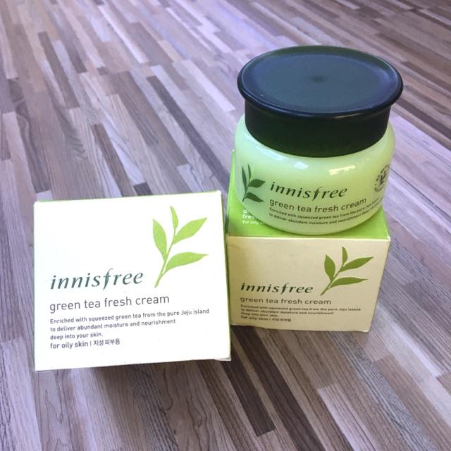 Kem dưỡng Innisfree Green Tea Fresh Cream 50ml - 3327263 , 435902616 , 322_435902616 , 290000 , Kem-duong-Innisfree-Green-Tea-Fresh-Cream-50ml-322_435902616 , shopee.vn , Kem dưỡng Innisfree Green Tea Fresh Cream 50ml