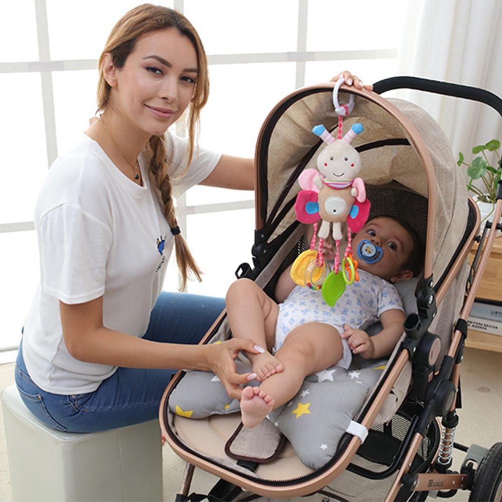 Baby Activity Spiral Toy for Car Seat Pushchair Pram Stroller Cot Bed