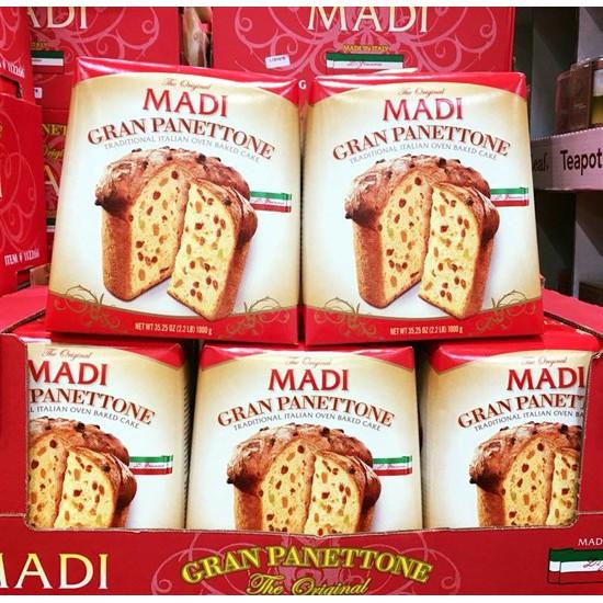 Bánh mì trái cây Madi Gran Panettone 1kg DATE 31/7/2020