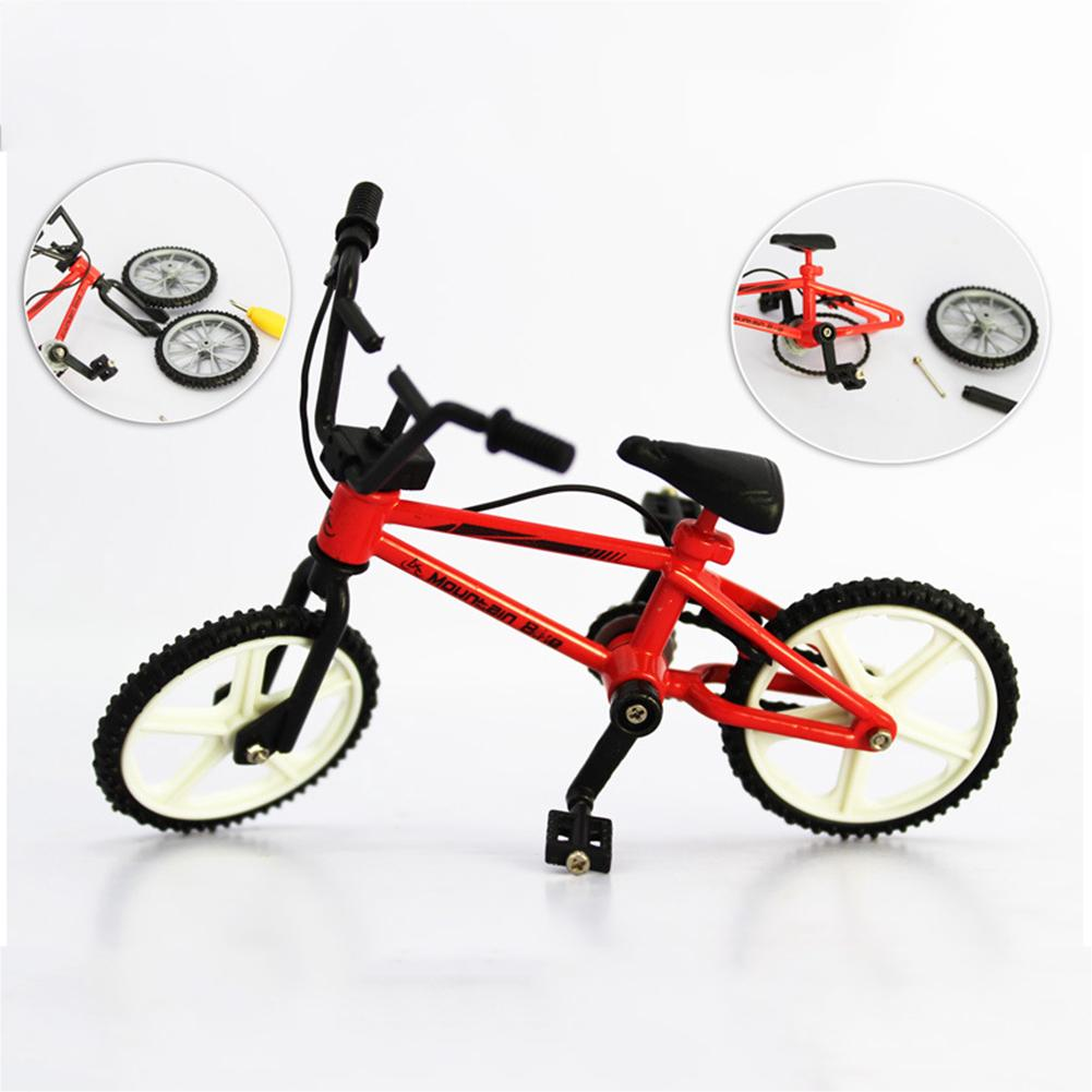 Creative Mini Functional Alloy Finger Mountain Bike Bicycle Model Kids Toy Gift