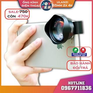 Lens ống kính điện thoại ulanzi 65mm – ống kính zoom 2x 4K