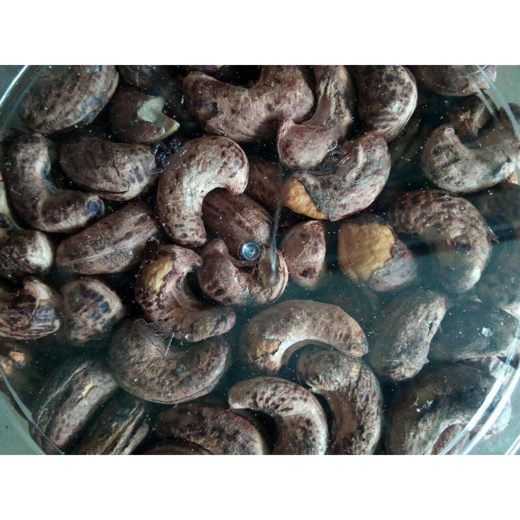 Hạt điều rang muối vỏ lụa 500 gram