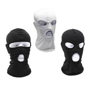 Anti-Dust Breathable Windproof Sports Motorcycle Cycling CS Full Face Mask Hats 3style for Outdoor