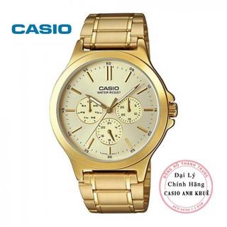 Đồng hồ nam Casio MTP-V300G-9AUDF dây kim loại