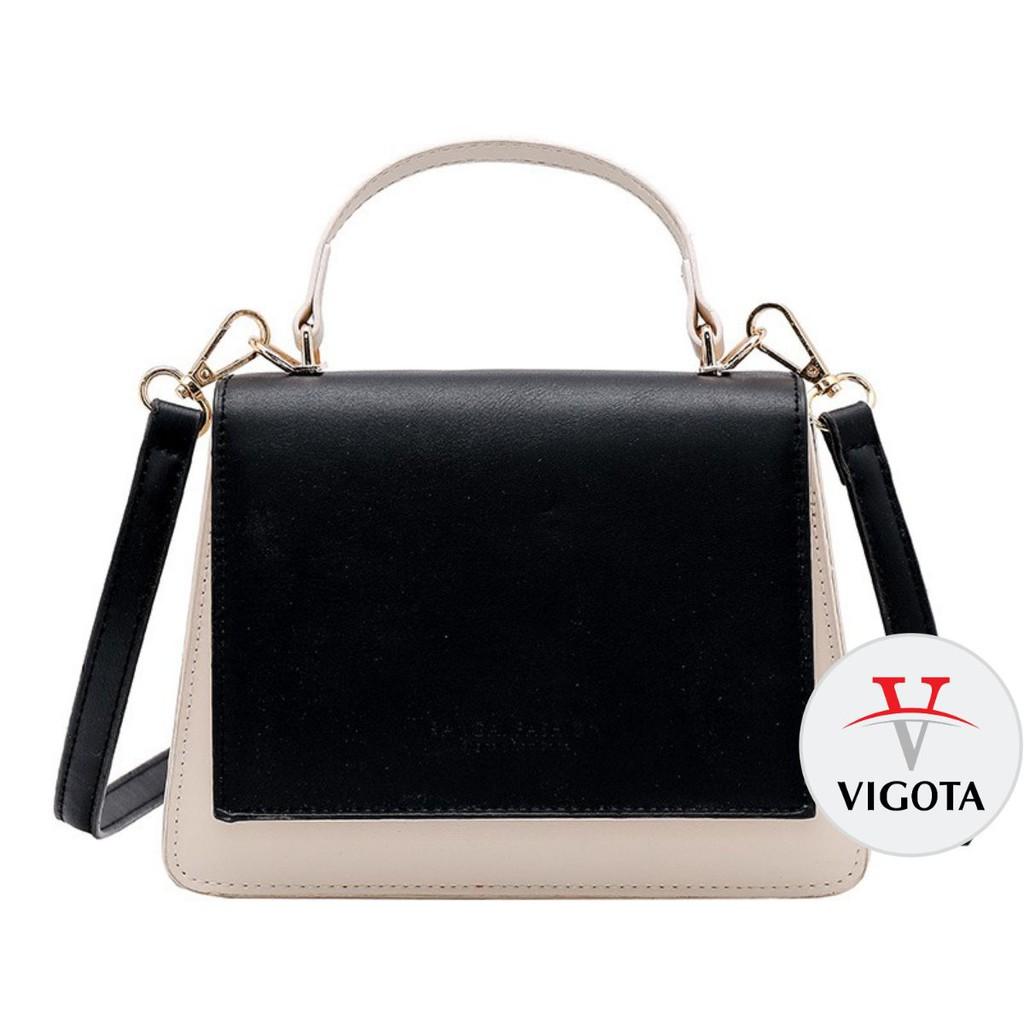 Túi xách nữ Quảng Châu 💖 FREESHIP từ 50k 💖 Túi xách đeo chéo hàng hiệu dáng vuông cao cấp TX10