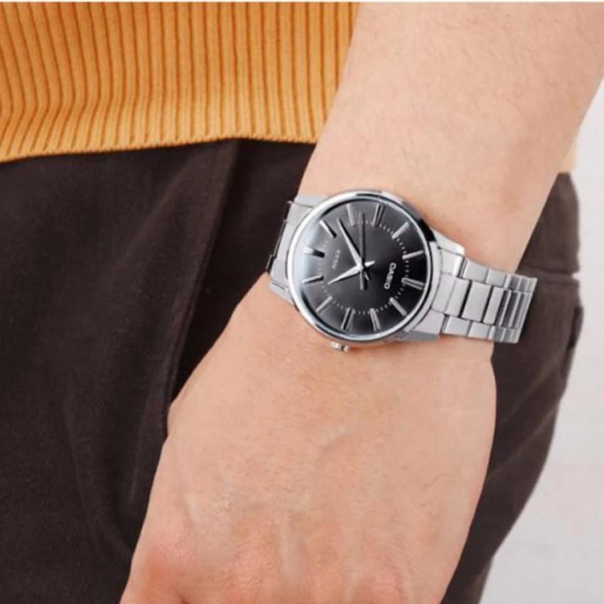 Đồng hồ nam dây kim loại Casio chính hãng Anh Khuê MTP-1303D-1AVDF