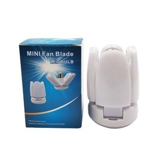 Đèn Led Mini 4 + 1 Hình Chiếc Lá Có Thể Gấp Gọn Tiện Dụng - hình 2