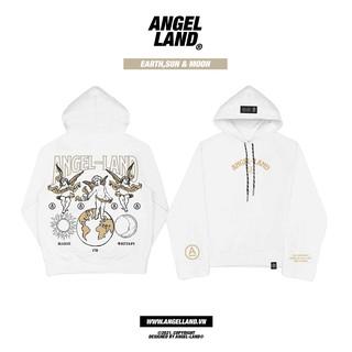 Áo Hoodie Angel-Land Earth Sun& moon-white chính hãng thumbnail