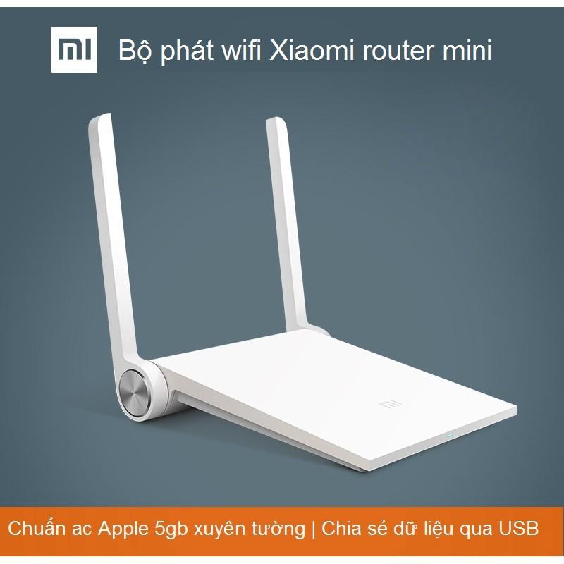 Bộ phát MiWifi Xiaomi Router Mini - Rom Padavan (Tùy chọn) - 2806367 , 696111112 , 322_696111112 , 410000 , Bo-phat-MiWifi-Xiaomi-Router-Mini-Rom-Padavan-Tuy-chon-322_696111112 , shopee.vn , Bộ phát MiWifi Xiaomi Router Mini - Rom Padavan (Tùy chọn)