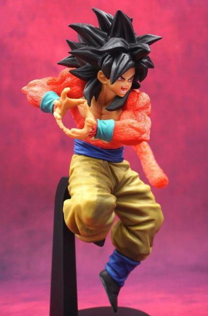 Mô hình Dragon Ball_Songoku SSJ4 x10 Kamehameha