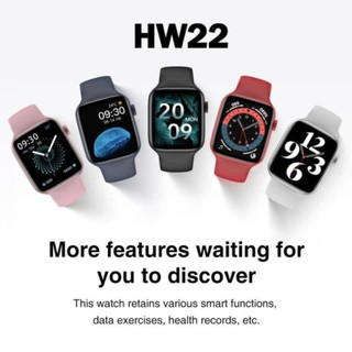 Hw22 Smart Watch 1.75 Inch Convenient Connection Custom Wallpaper Health Monitor Smartwatches For IOS Android