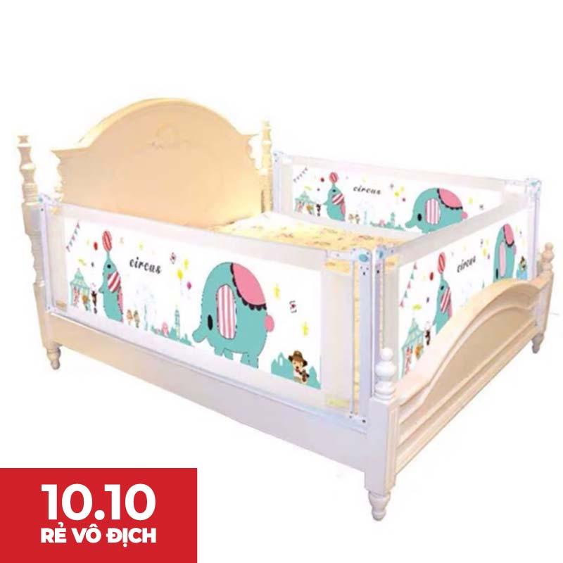 [Mã MKBCSALE1 hoàn 8% xu đơn 400K] Thanh chắn giường Baby gift cho bé