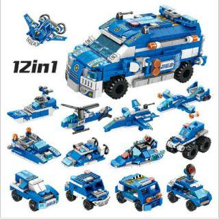 Lego-Panlos 633015 bộ lắp ráp 12 in 1