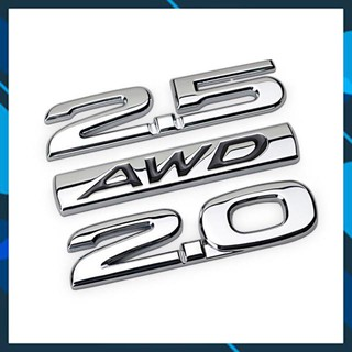FREE SHIP 50K Logo kim loại AWD 2.0 2.5 cho xe mazda thumbnail
