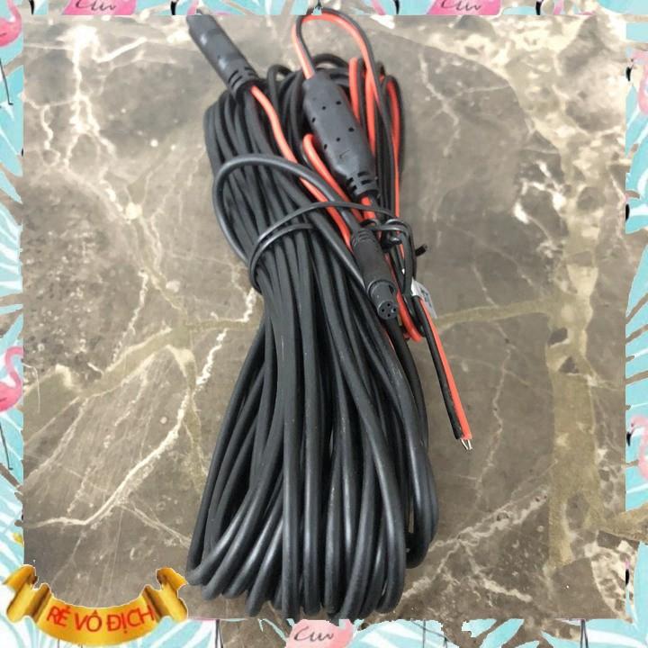 Dây tín hiệu 4 chân kết nối camera hành trình và camera lùi dài 10m (màu đen) M