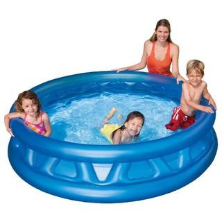 Bể bơi gia đình tròn xanh 188×46 Intex 58431