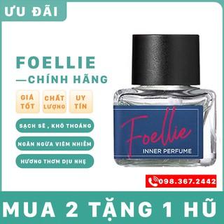 nước hoa vùng kín FREESHIP nước hoa foellie xanh shop có che tên HALIN56545 thumbnail