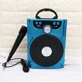Loa Kéo Bluetooth P88 P89 - Loa Xách Tay Tặng Micro Hát Karaoke Cực Hay CÓ SỈ thumbnail
