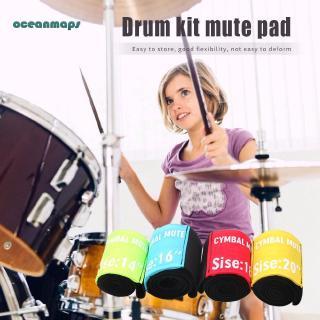 ❤oceanmaps❤14/16/18/20 inch Drum Mute Circle Percussie Instrument Accessoires