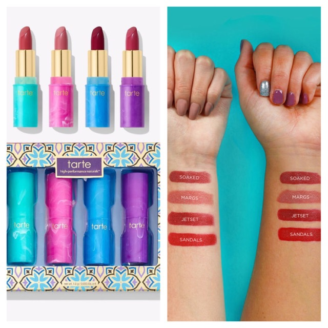 Set son Tarte mini limited