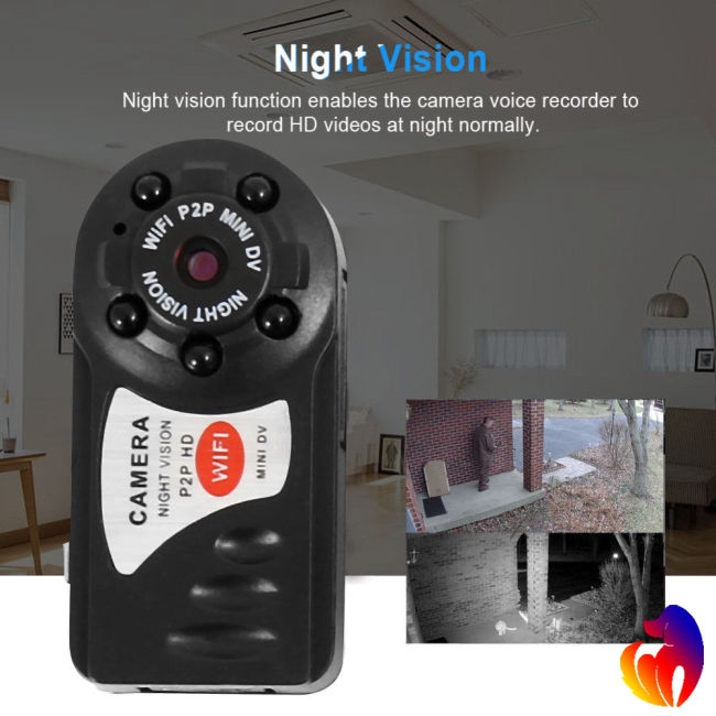 HD Mini WIFI Camera Wireless DVR DIY Video Recorder Security Camera