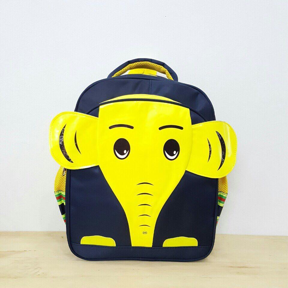 Balo đi học cho bé hình cú voi size 33cm (Vàng) 25611