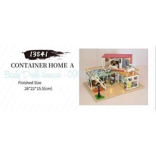 Mô hình nhà búp bê nhà container 13841