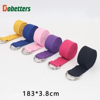 Dây tập Yoga Cotton loại tốt 1m8 x 3,8cm (Yoga Strap) thumbnail