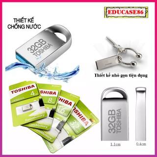 USB Toshiba 4GB, 8GB, 16GB, 32GB chính hãng, usb Toshiba chống nước, usb vỏ kim loại nhỏ gọn Educase86