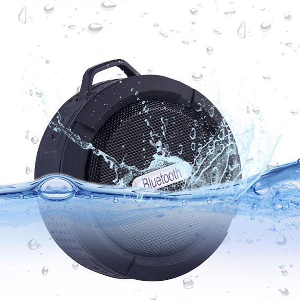 Portable Bluetooth 4.1 Sport Indoor Shower Speaker Wireless Travel Outdoor Waterproof Mini Stereo Audio Bathroom