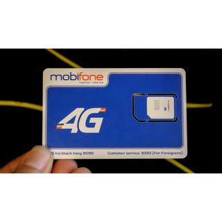Sim trắng 4G Mobifone tự đổi tại nhà