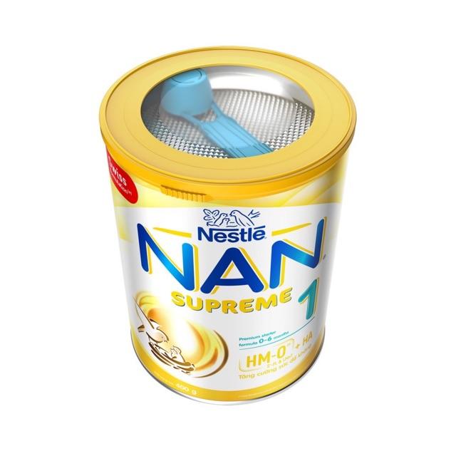 Sữa bột Nan Supreme 1 400g