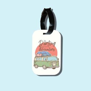 Travel tag cho túi xách balo du lịch in hình Let s go for Adventure thumbnail