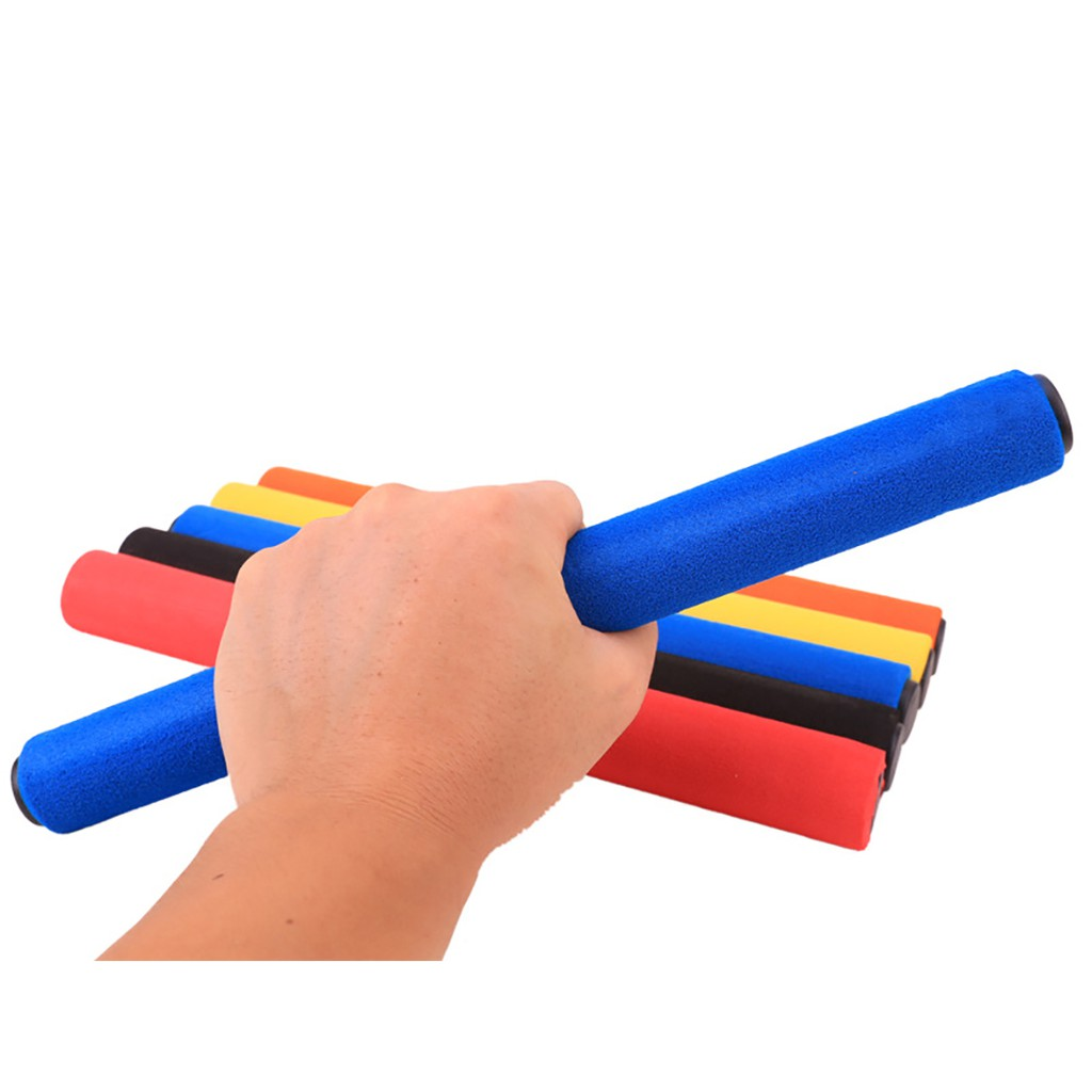 Set 6 gậy tiếp sức chống trượt cho chạy điền kinh