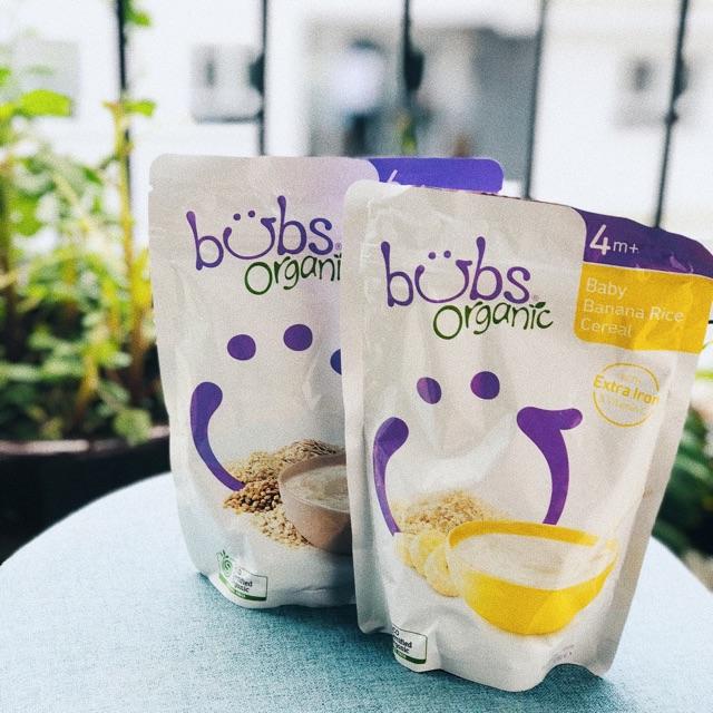 c74ddbf77f Bột ăn dặm sữa dê Bubs Organic của Úc cho bé từ 4 tháng ...
