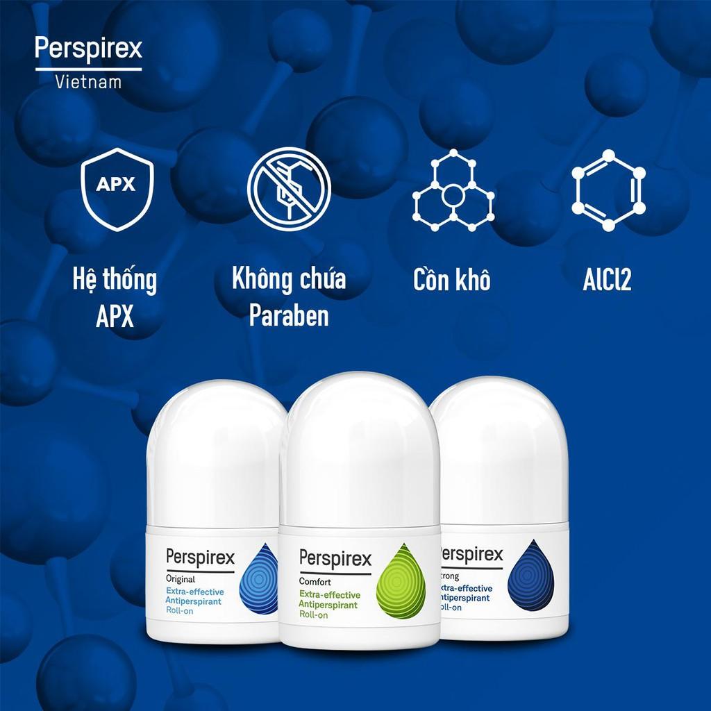Lăn khử mùi hiệu quả đến 7 ngày Perspirex 20ml