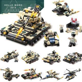 [Mã TOY1212 giảm 10% tối đa 25K đơn bất kỳ] Bộ lego Cogo 8 in 1 – mô hình lắp ráp xe tăng chiến đấu