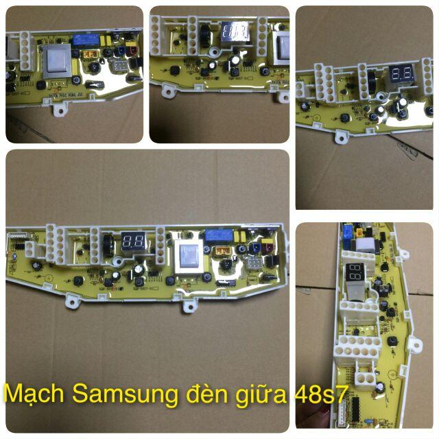 Mạch máy giặt Samsung đèn giữa (Model:48S7-01) - 3103508 , 993394810 , 322_993394810 , 295000 , Mach-may-giat-Samsung-den-giua-Model48S7-01-322_993394810 , shopee.vn , Mạch máy giặt Samsung đèn giữa (Model:48S7-01)