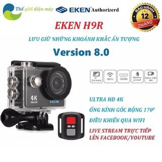 Camera hành trình oto Eken H9/H9R ultra HD 4K wifi phiên bản mới nhất V8.1, camera hành động eken h9r