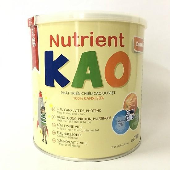 Kết quả hình ảnh cho Sữa Nutrient Kao