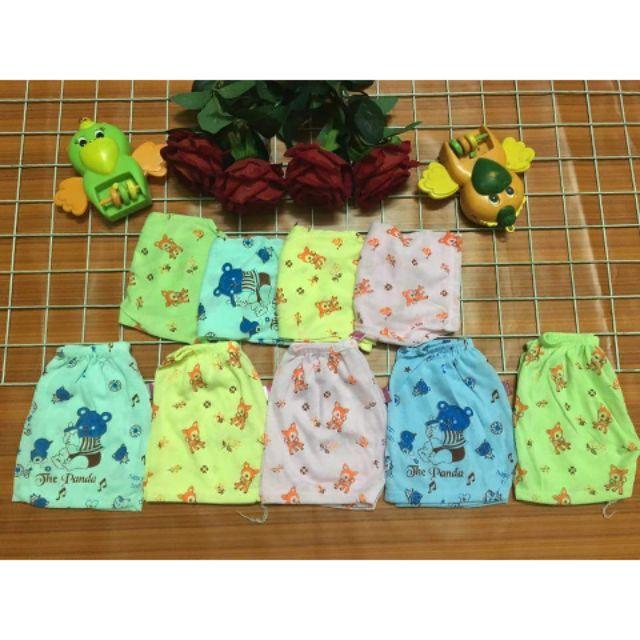 10 quần cotton hình cho bé